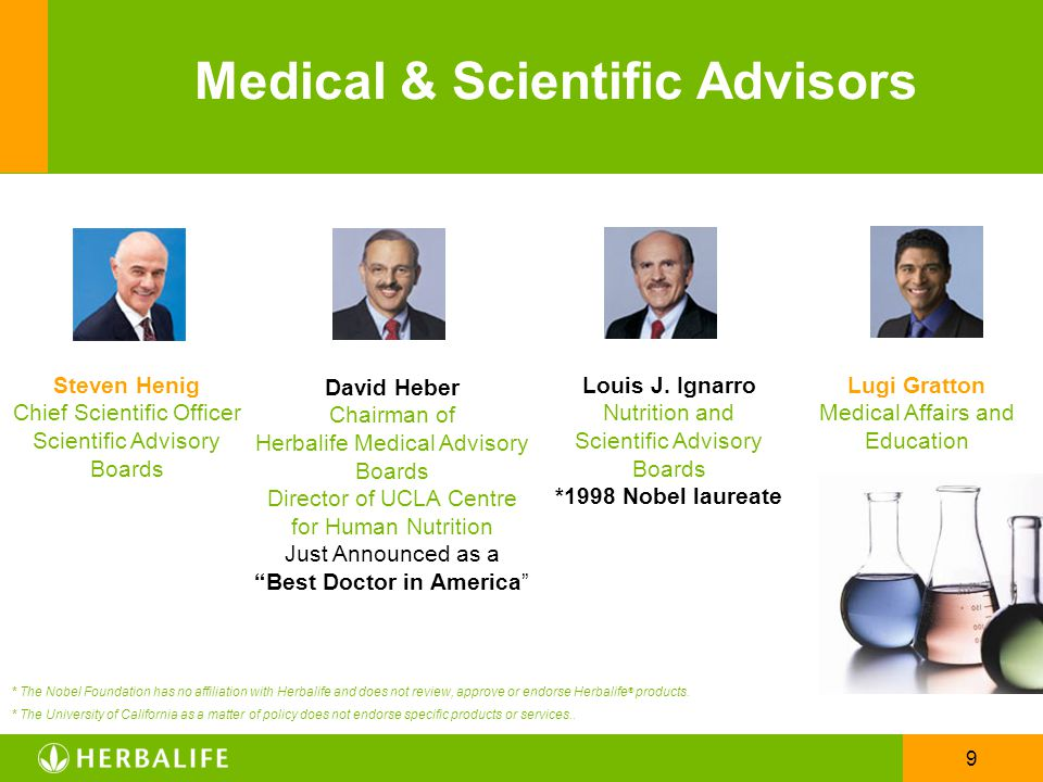 Medical & Scientific Advisors