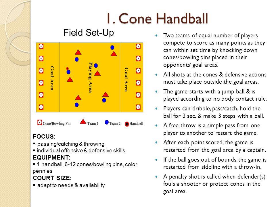 1. Cone Handball Field Set-Up