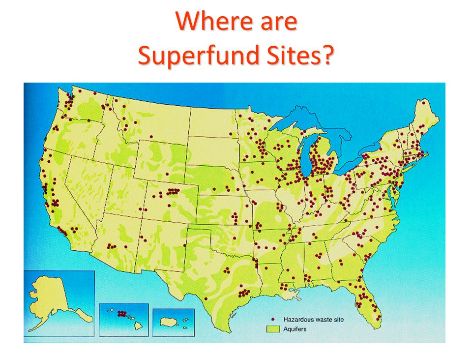 Where are Superfund Sites