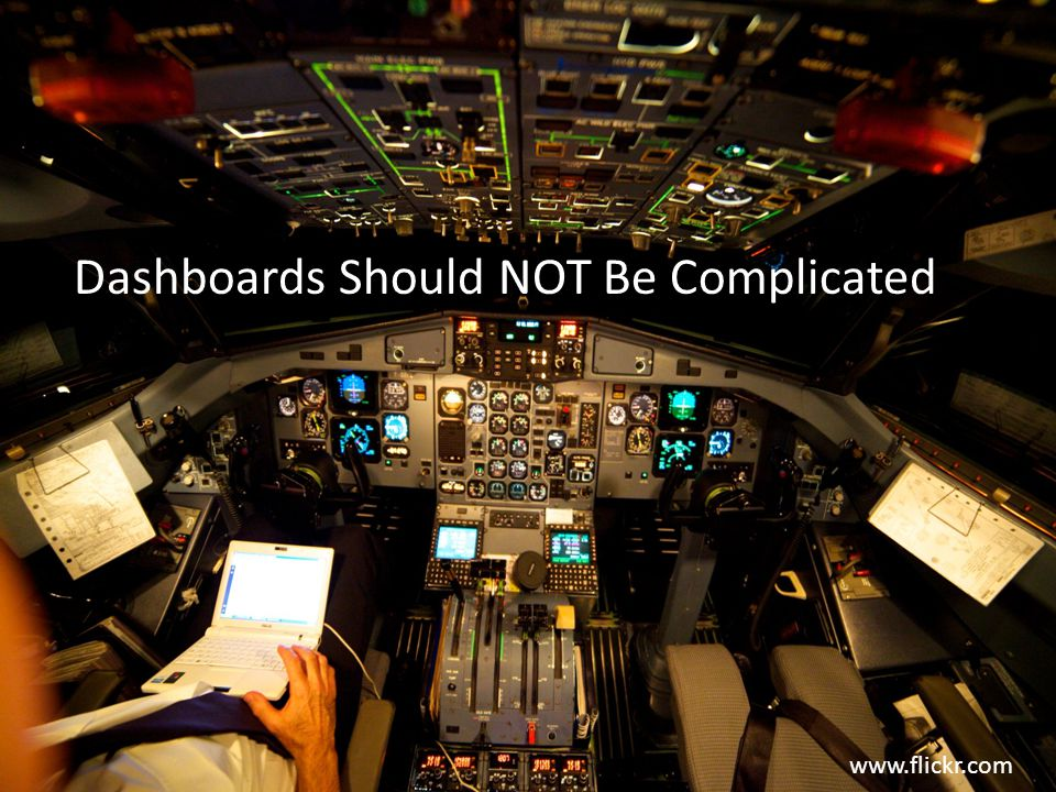 Dashboards Should NOT Be Complicated