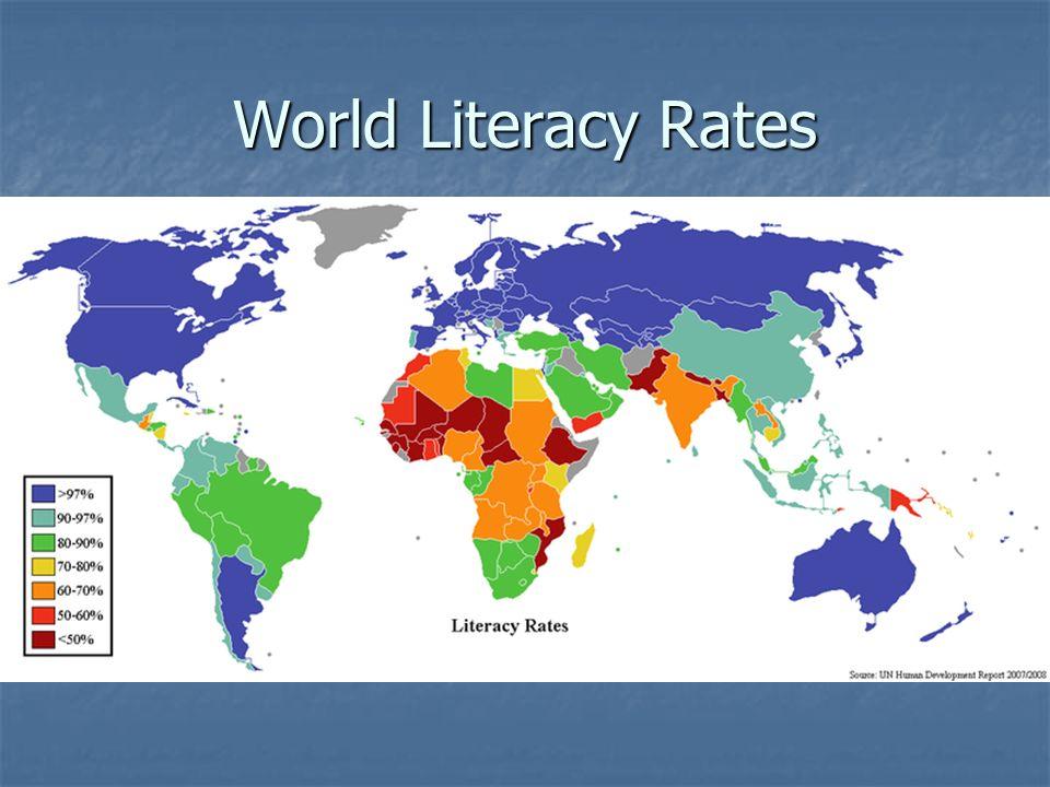 World Literacy Rates