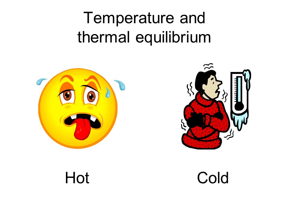 Temperature and thermal equilibrium