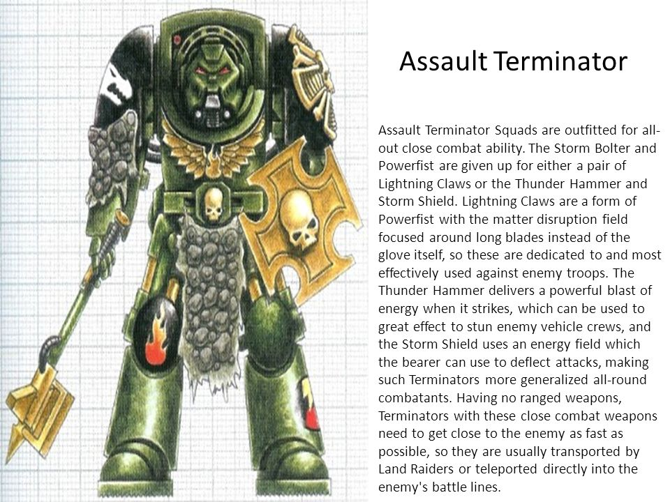 Assault Terminator