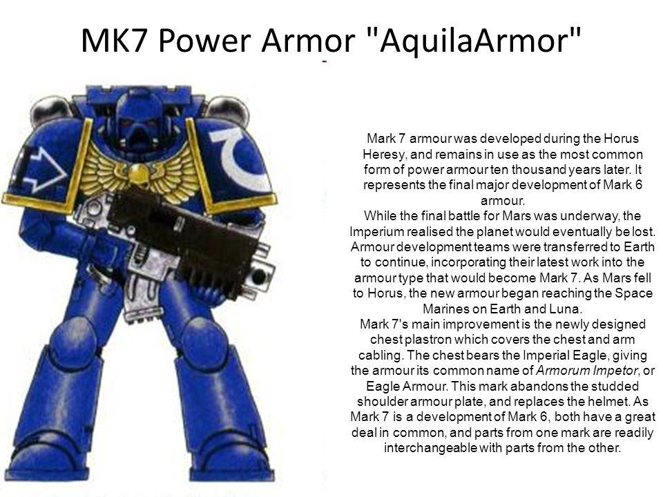 MK7 Power Armor AquilaArmor
