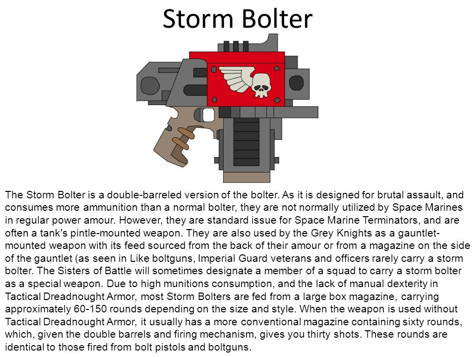 Storm Bolter