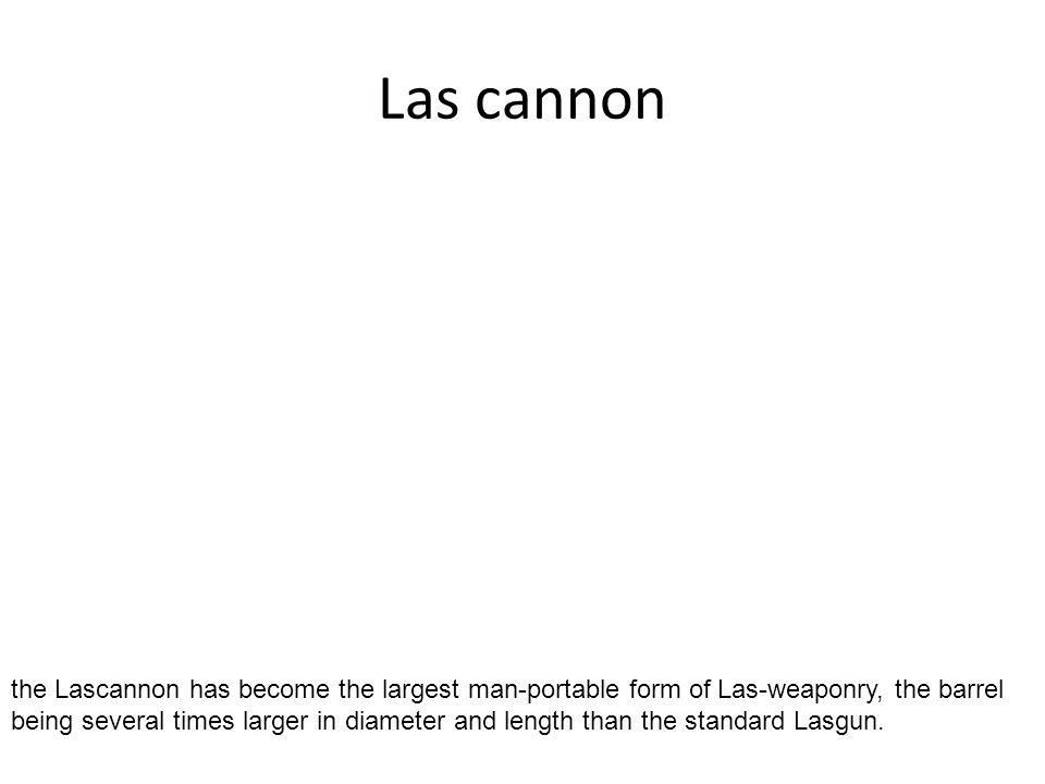 Las cannon