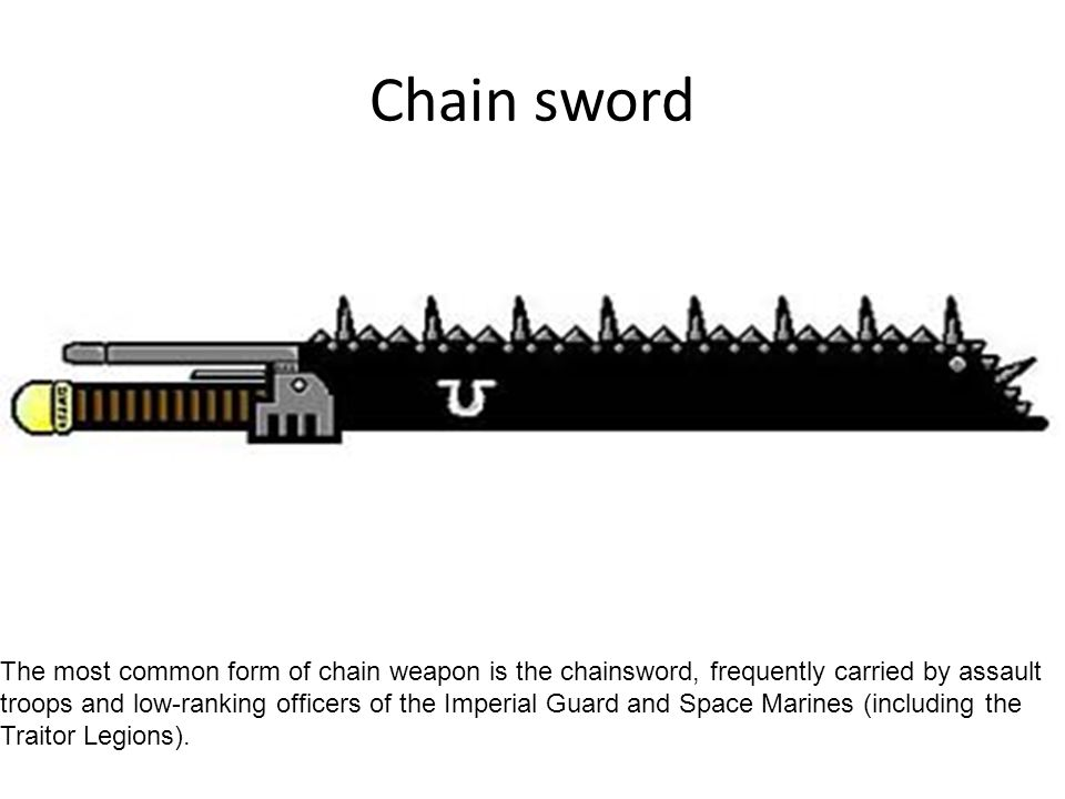 Chain sword