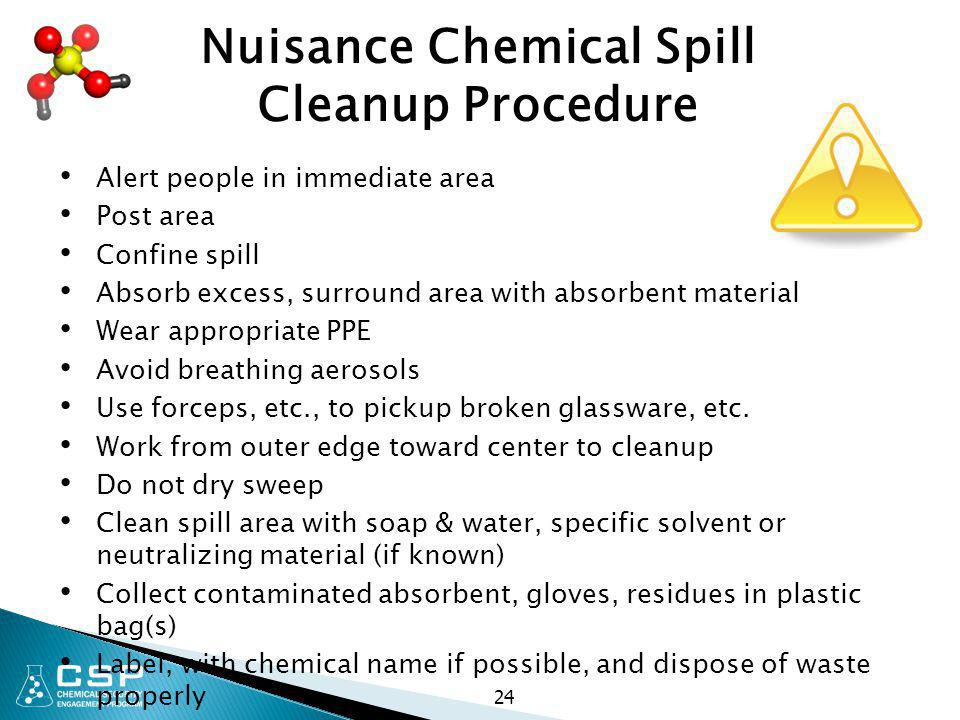 Nuisance Chemical Spill