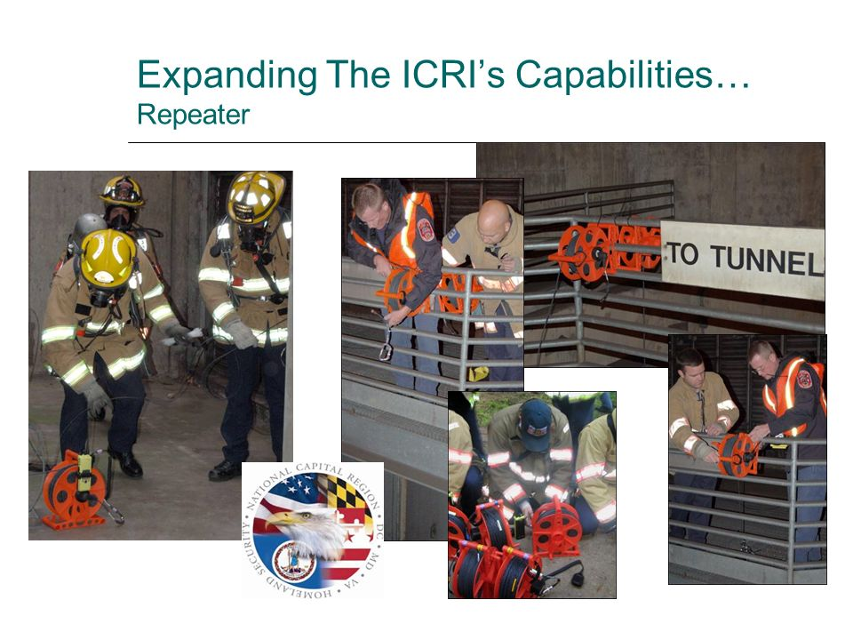 Expanding The ICRI's Capabilities… Repeater