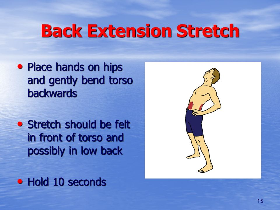 Back Extension Stretch