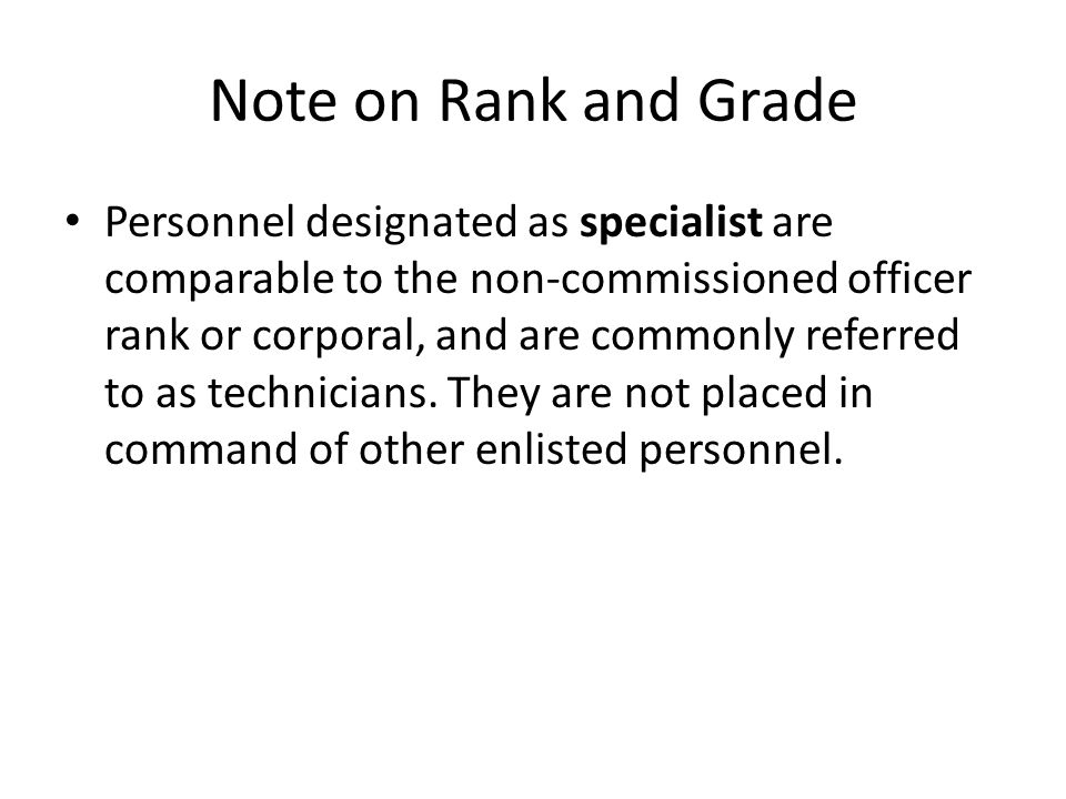 Note on Rank and Grade