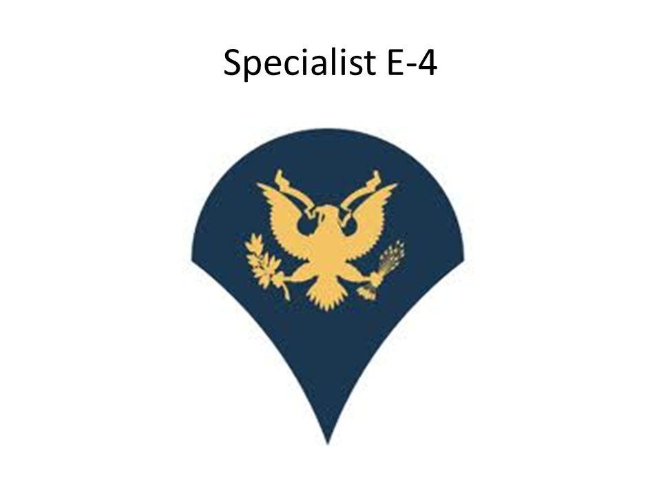 Specialist E-4