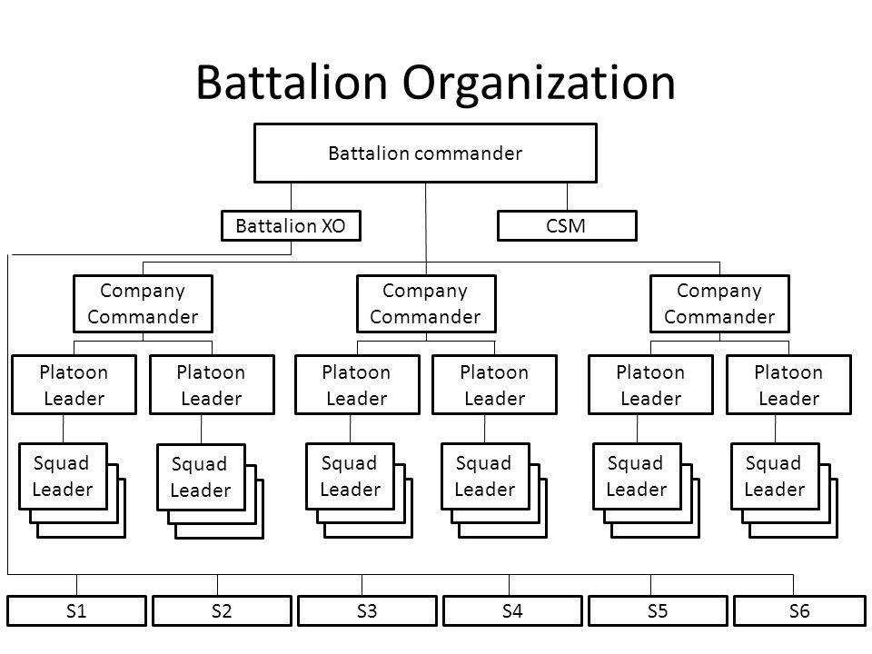 Battalion Organization
