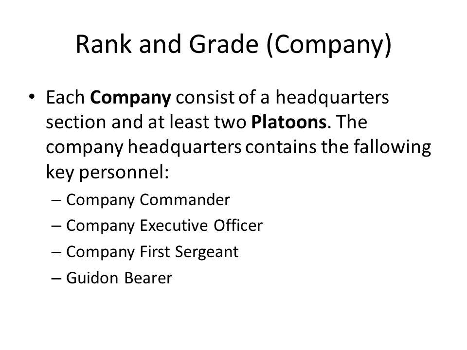 Rank and Grade (Company)