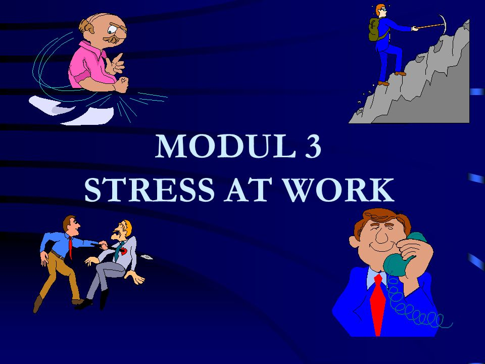 MODUL 3 STRESS AT WORK