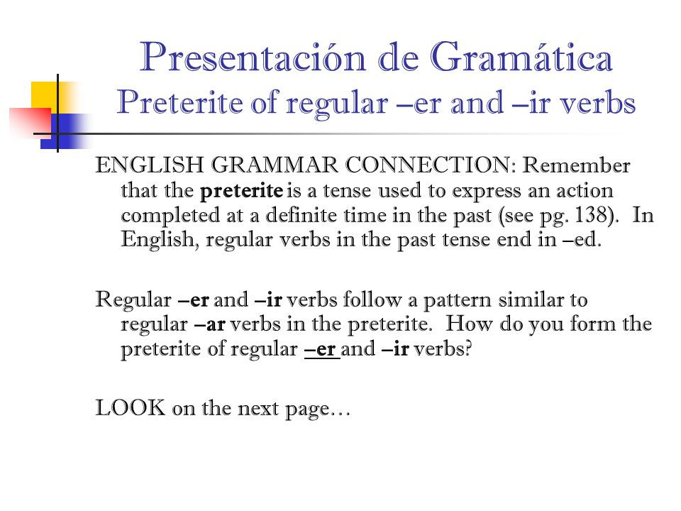 definite english grammar