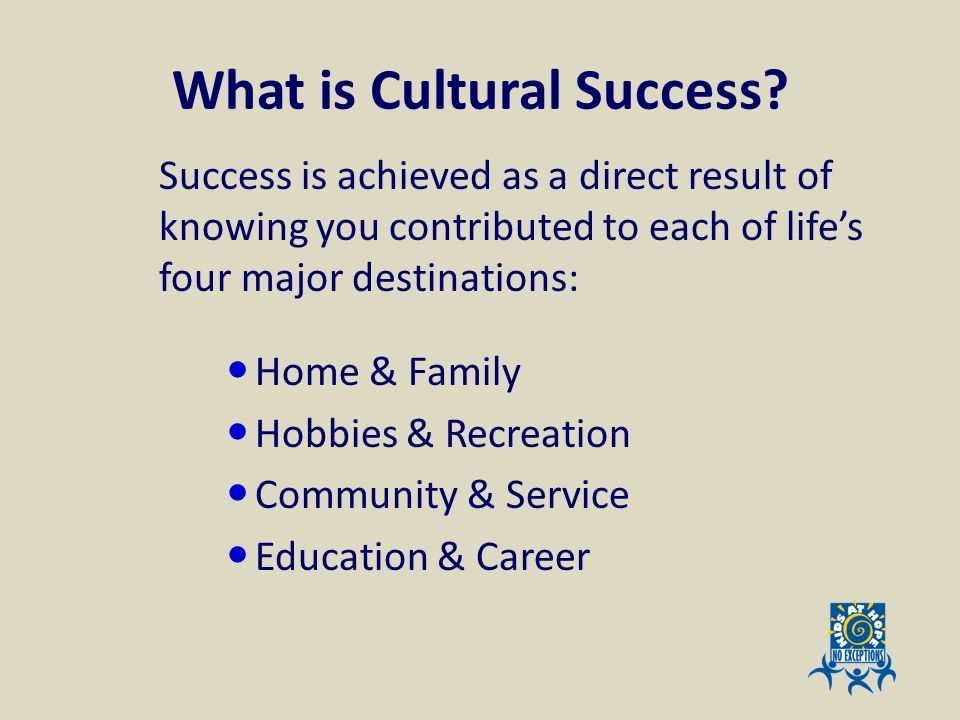 What is Cultural Success