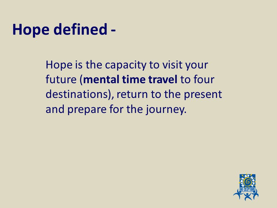 Hope defined -