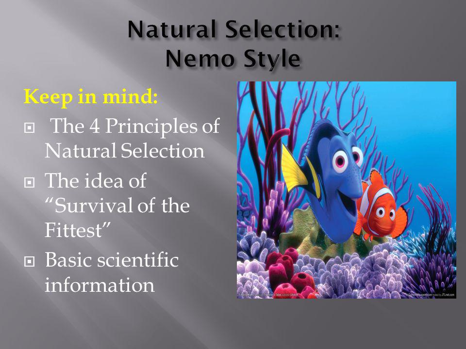 Natural Selection: Nemo Style