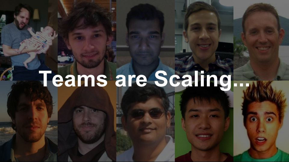 Teams are Scaling...