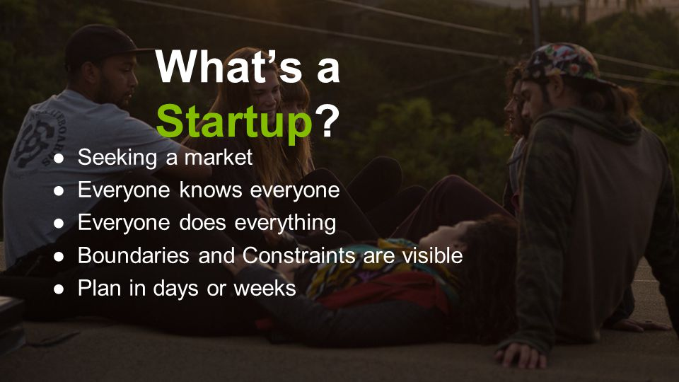 What's a Startup Seeking a market Everyone knows everyone