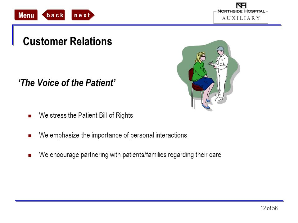 'The Voice of the Patient'