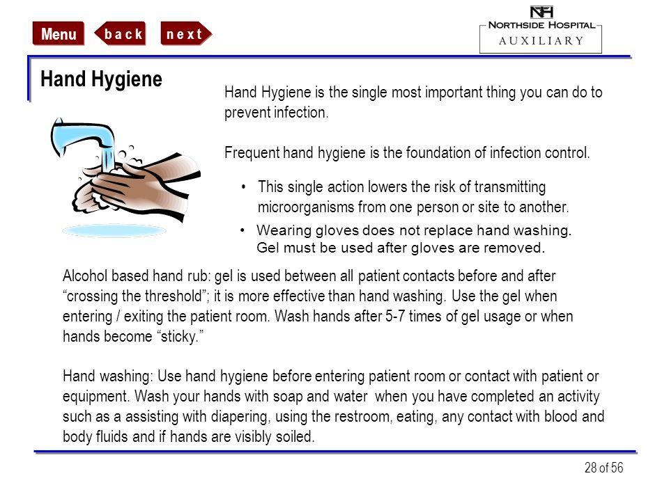 Hand Hygiene
