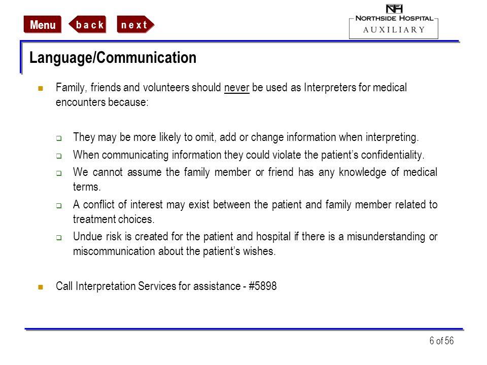 Language/Communication
