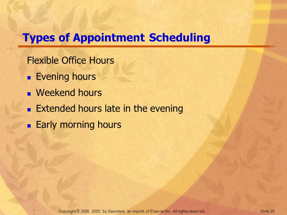 Types of Appointment Scheduling