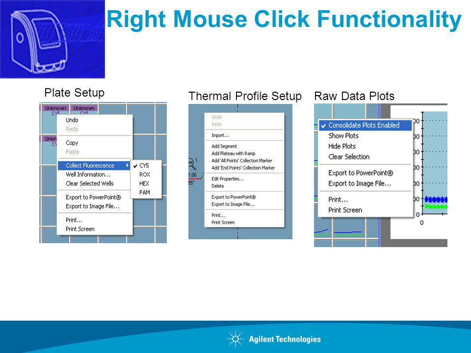Right Mouse Click Functionality