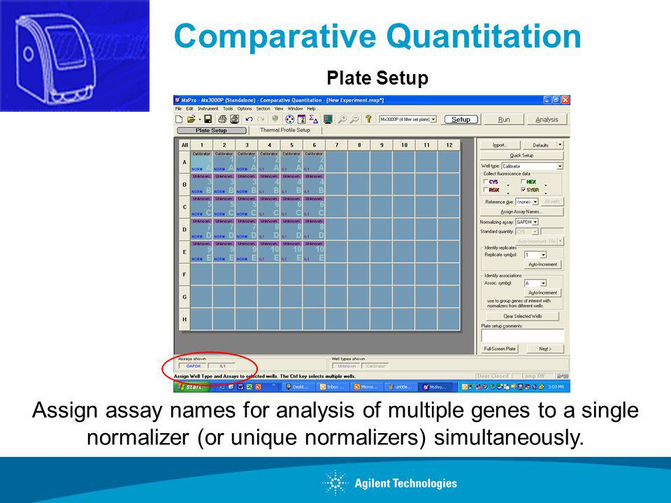 Comparative Quantitation
