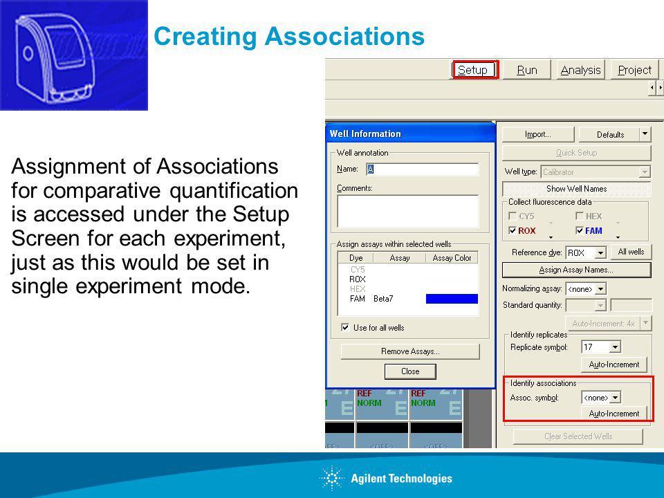 Creating Associations