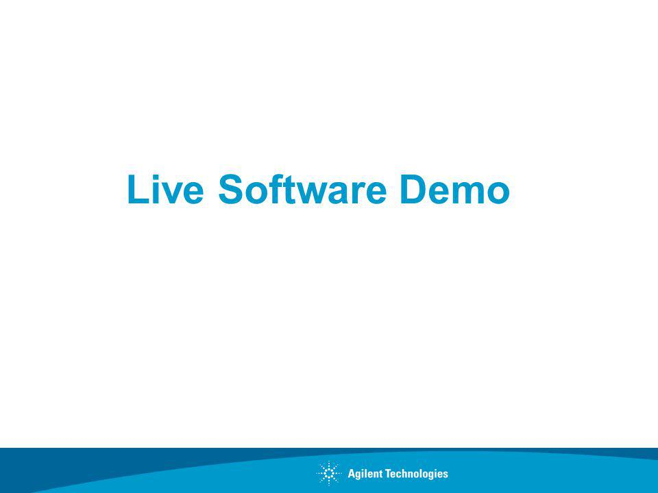 Live Software Demo