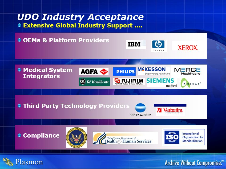 UDO Industry Acceptance