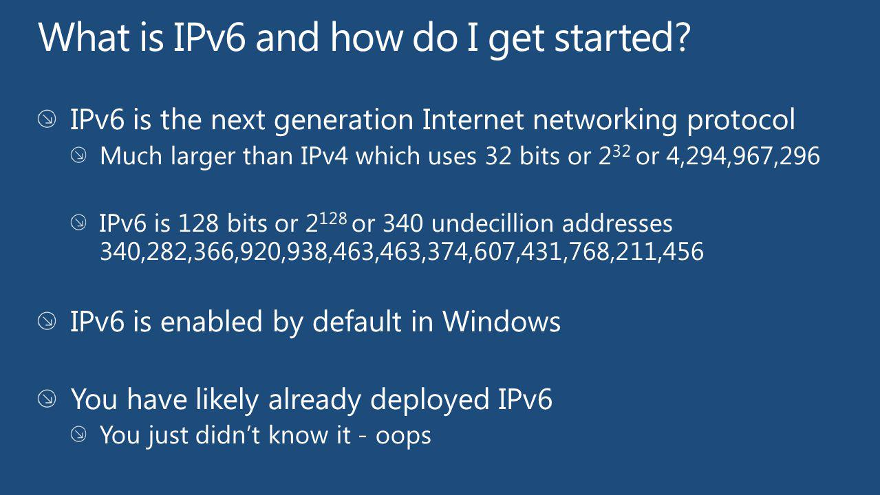 What is IPv6 and how do I get started