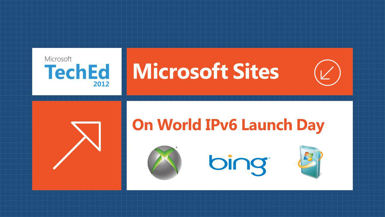 Microsoft Sites On World IPv6 Launch Day