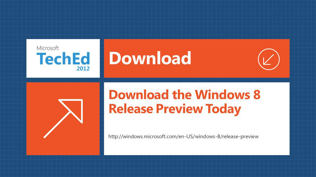 Download the Windows 8 Release Preview Today