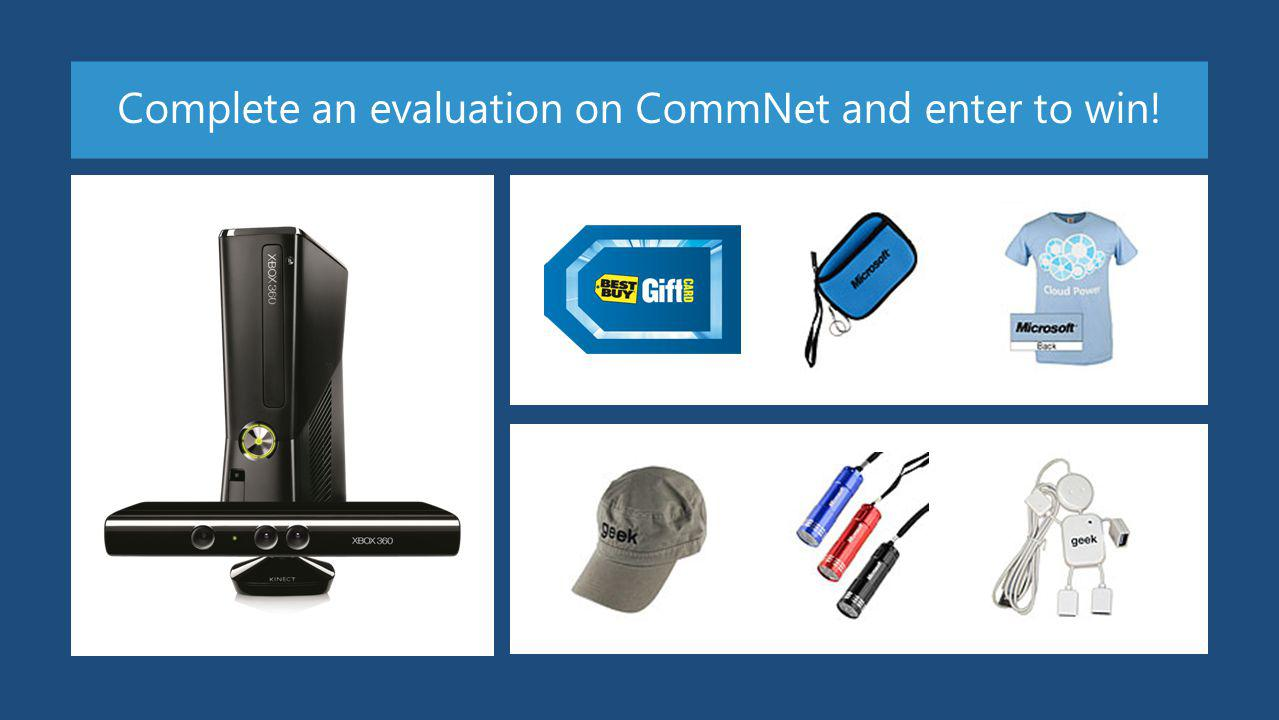 Complete an evaluation on CommNet and enter to win!