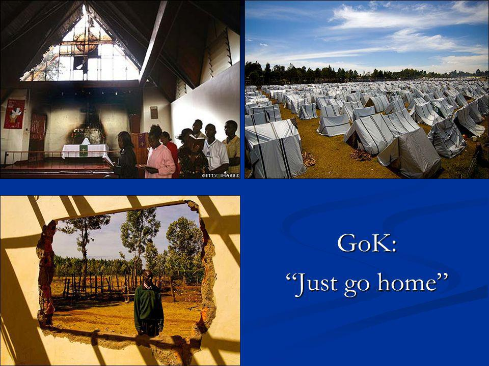 GoK: Just go home
