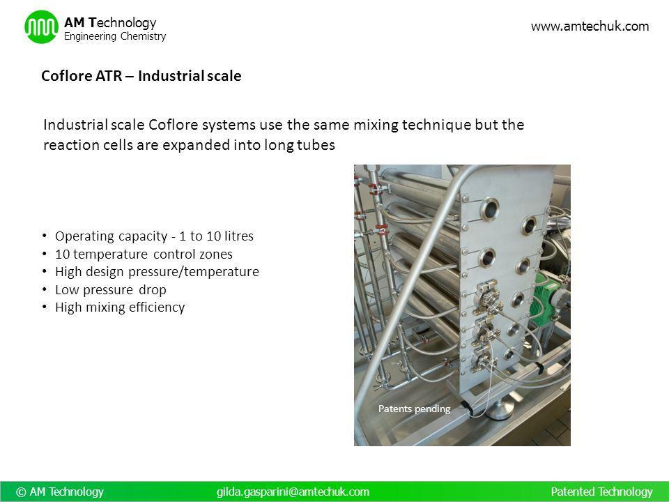 Coflore ATR – Industrial scale