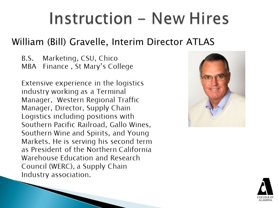 Instruction - New Hires