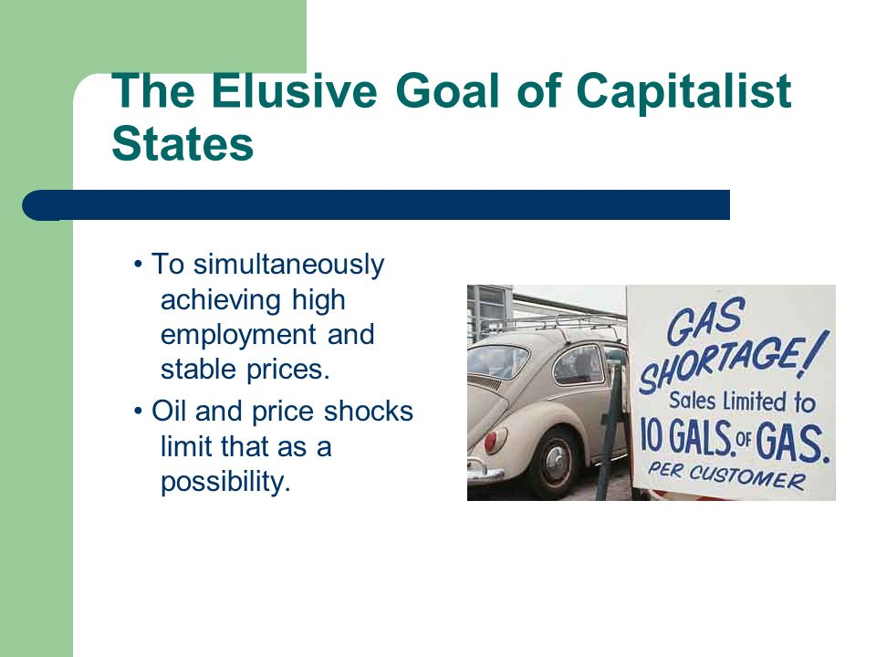 The Elusive Goal of Capitalist States