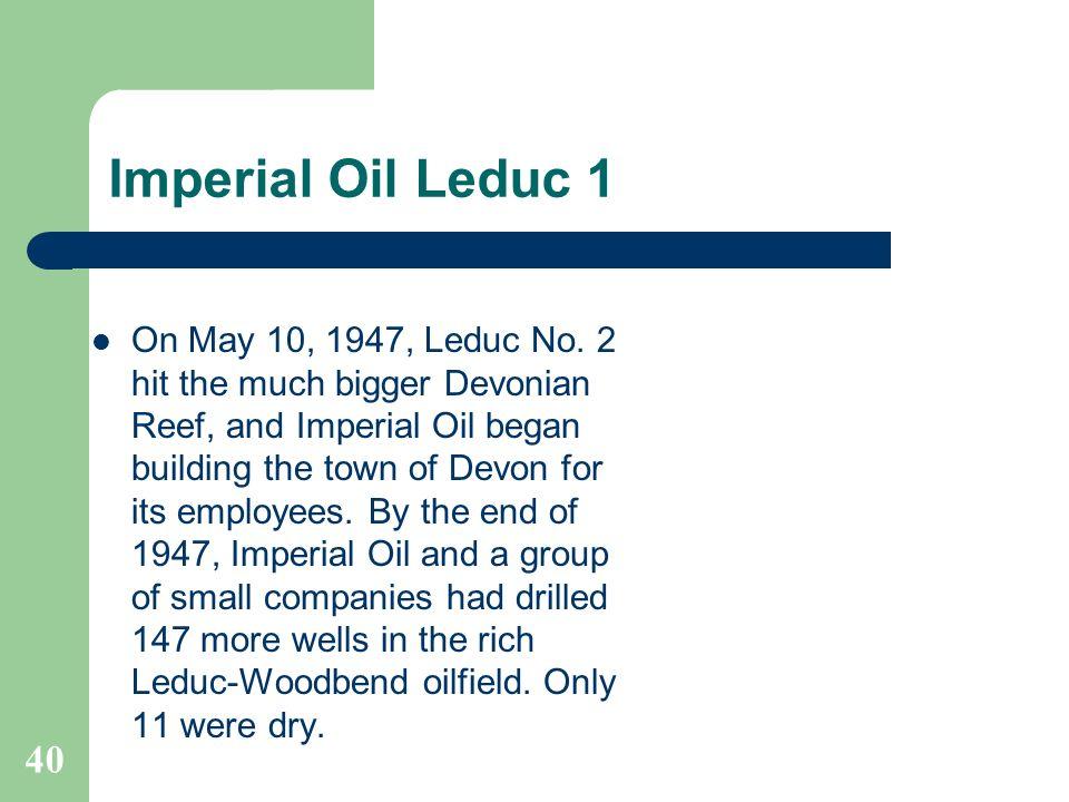 Imperial Oil Leduc 1
