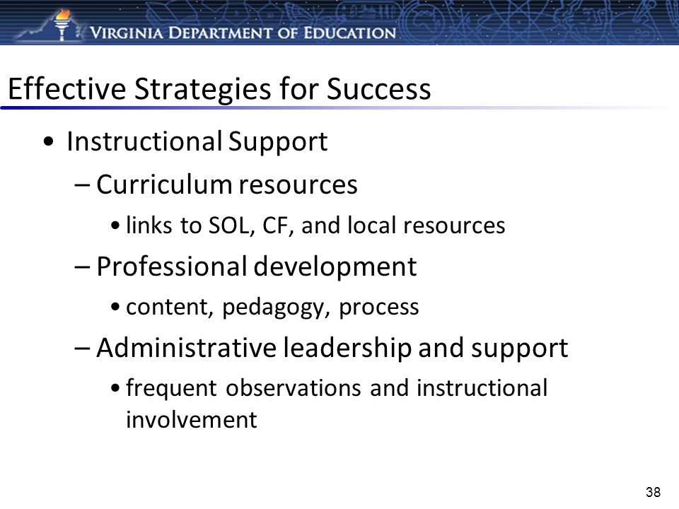 Effective Strategies for Success
