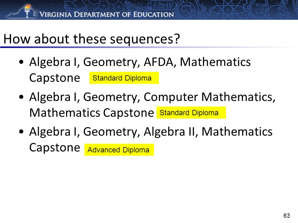 How about these sequences