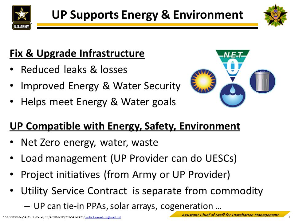 UP Supports Energy & Environment