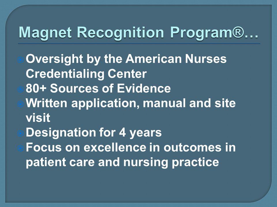 Magnet Recognition Program®…