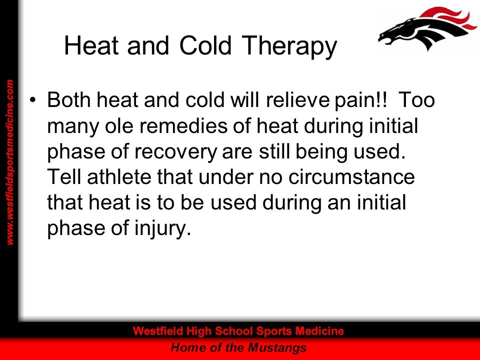 Heat and Cold Therapy