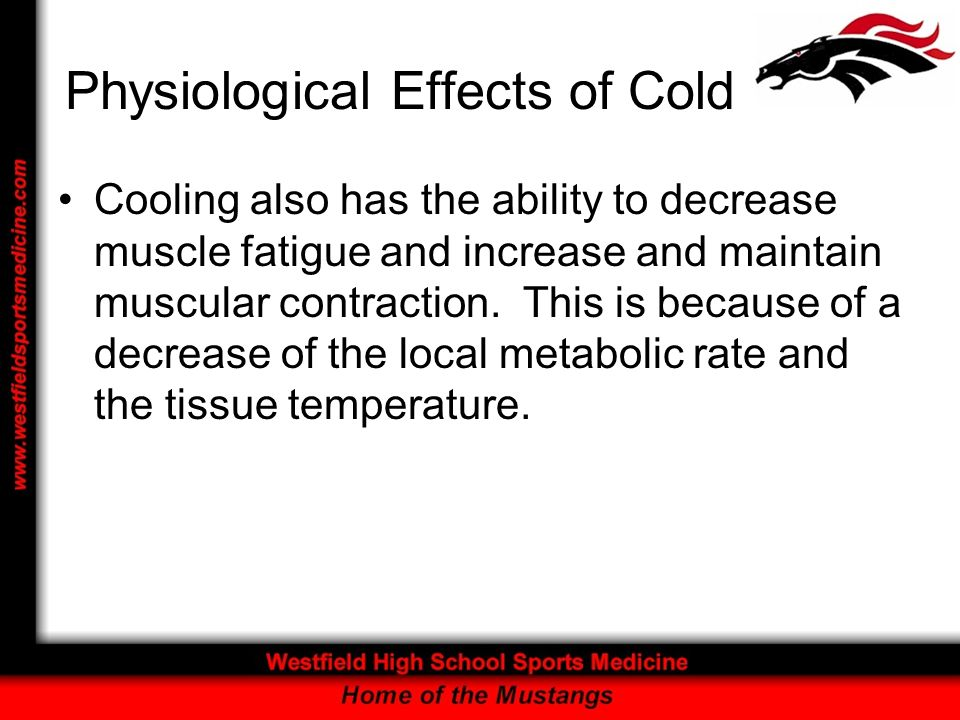 Physiological Effects of Cold