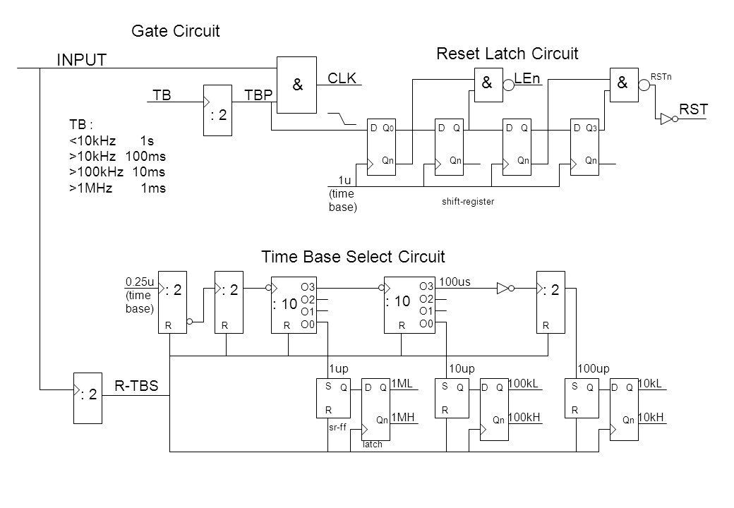 Time Base Select Circuit